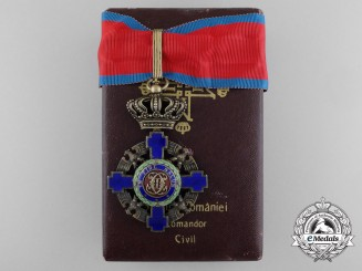 An Order of the Star of Romania 1932-1946; Commander's Cross by National Mint