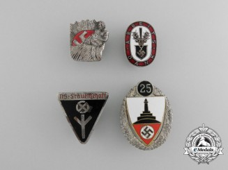 A Lot of Four German Second War Badges