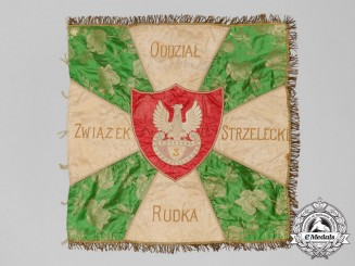 A Scarce First War Polish Legion Riflemen Branch Banner