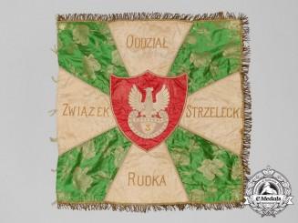 A Scarce First War Polish Legion Riflemen Branch Banner