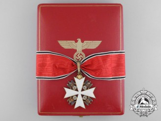 A German Eagle Order First Class with Case by Godet
