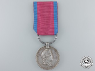 A Hanoverian Waterloo Medal to Lieutenant Friedrich von Maidel; Osnabrueck Light Battalion