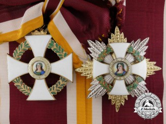 An Order of Saint Agatha; Grand Cross Set