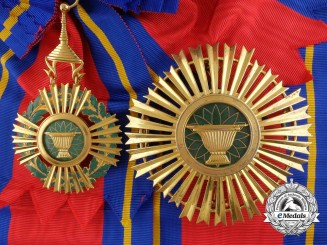 A Cambodian Royal Order of Sahametrei; Grand Cross Set