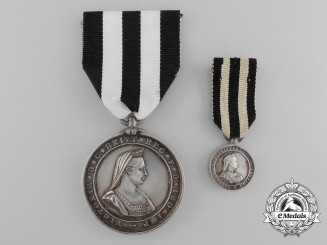 A 1911 Service Medal of the Order of St. John Presented by the Prince of Wales