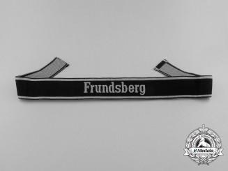 "A Scarce BeVo EM/NCO's SS ""Frundsberg"" Cufftitle"