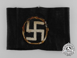 A 1930's English/British National Socialist Armband