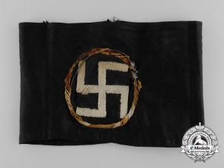 A 1930's English/British National Socialist Armband
