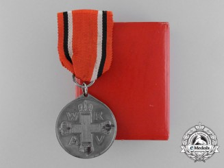 A Prussian Second Class Red Cross Medal in Box of Issue