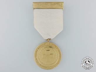 A British Red Cross Society Medal for War Service