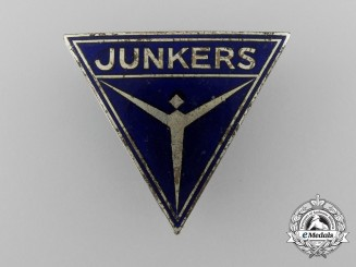 A German Junkers Factory Employee Badge