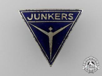 A German Junkers Factory Employee Badge