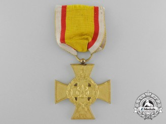 A 1914 Lippe-Detmold War Merit Cross