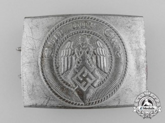 A HJ Member's Belt Buckle by Friedrich Linden