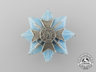A Miniature Bulgarian Military Order for Bravery; Grand Cross 1912