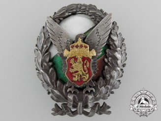 A Second War Period Royal Bulgarian Police Academy Badge