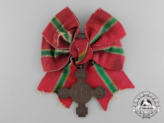 Bulgaria, Kingdom. A Lady's Independence Cross, by P. Telge, c.1910