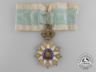 A Portuguese Order of Villa Vicosa; Commander