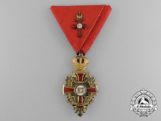 A First War Austrian Order of Franz Joseph with Kleindekoration