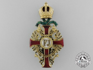 Austria, Empire. An Order of Franz Joseph, Officers Cross with War Decoration, c.1916