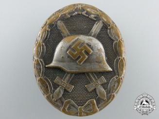 A Silver Grade Wound Badge by Steinhauer & Lück