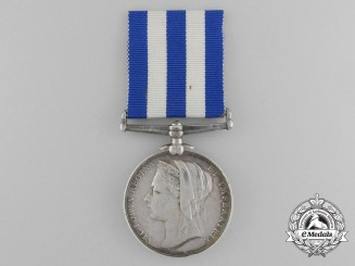 An Egypt Medal 1882-1889 to Quartermaster Sergeant W.C. Minty; Mounted Police