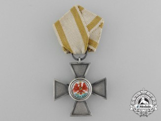 A Prussian Order of the Red Eagle; Prinzen Size Cross Fourth Class by Godet