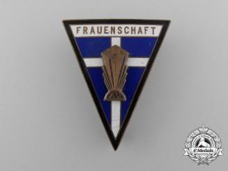 A Very Rare American Frauenschaft Badge of the German American Bund
