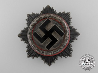 A German Cross in Silver by Zimmermann