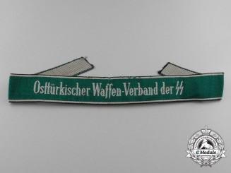 An OsttrkischeWaffen-Verband der SS Cufftitle