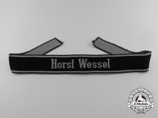 A Waffen-SS Horst Wessel Cufftitle