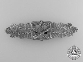 Germany, Heer. A Close Combat Clasp, Silver Grade, by Rudolf Souval