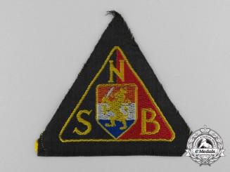 A Second War Dutch NSB Sleeve Badge