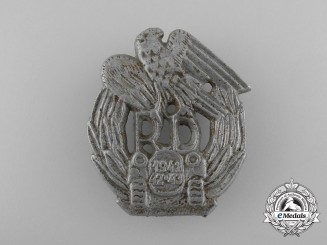 A 1941/43 Slovakian Motorized Units Badge