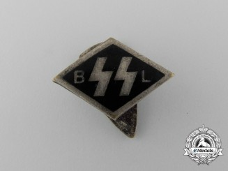 "A Flemish Allgemeine-SS ""SS BL"" Financial Supporter's Badge"