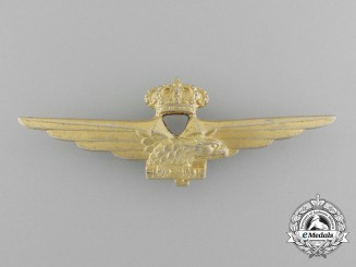 A Second War Italian Pilot's Wings