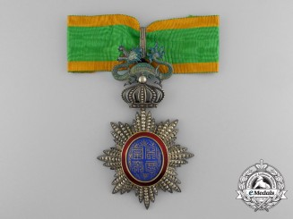 A French Colonial Order of the Dragon of Annam; Commander