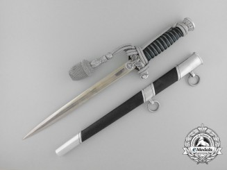 A Land Custom Official Dagger of outstanding workmanship by Paul Weyersberg & Co.