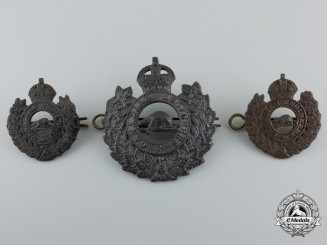 A First War Canadian Engineers Insignia Set