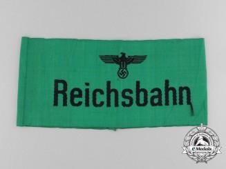 A German Reichbahn (Railroad) Service Armband