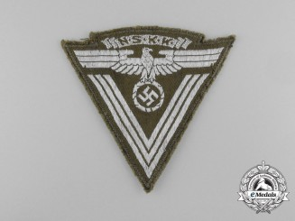 "An N.S.K.K. ""Old Fighter's"" Sleeve Chevron; RZM tagged"