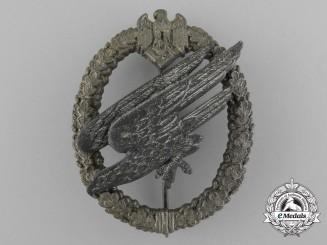An Army Fallschirmjäger Badge by Friedrich Linden, Lüdenscheid