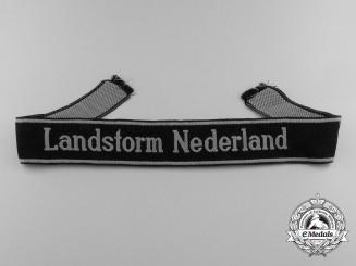 "Germany. A Cufftitle ""Landstorm Nederland""; BeVo Style"