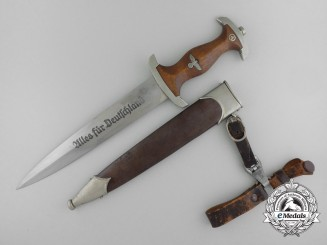 An Early SA Dagger by Adolf Völker, Solingen