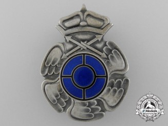 A Second War Finnish Radio Operator & Air Gunner Badge by Veljekset Sundqvist