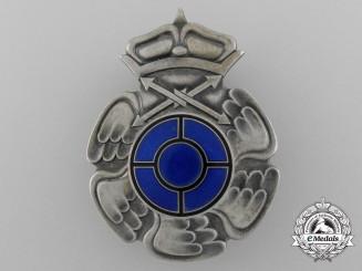 Finland. A Radio Operator & Air Gunner Badge by Veljekset Sundqvist