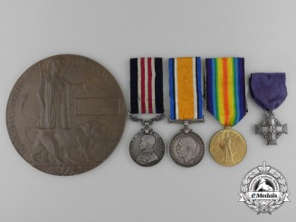 A Canadian Military Medal & Memorial Group to the 22nd Regiment