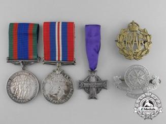 Canada, Commonwealth. A Memorial Group to David Westlake; RCAF &  St. John Ambulance Brigade