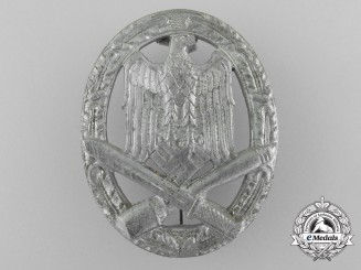 A Mint German Army/SS General Assault Badge