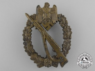 "An Infantry Badge Bronze Grade by ""M.K.1"""